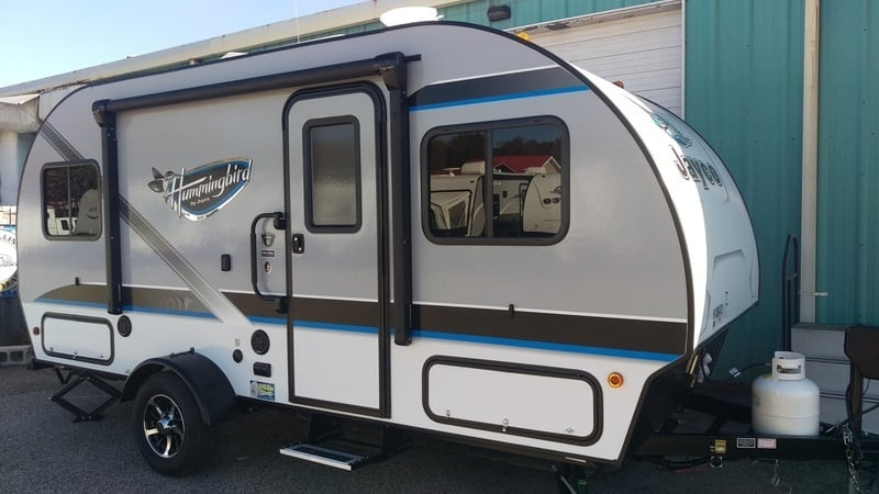 Innovative Middlebury, Indiana Based Jayco, Inc Has Introduced A New Product To Their Travel Trailer Line For 2017 Called The Hummingbird Currently There Are Three Floorplans For This New Lightweight Unit That, As You Might Guess With One Look